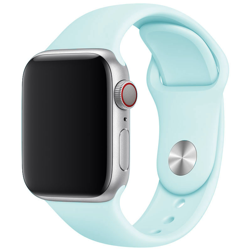 Silicone Szíj Apple Watch 42/44mm Turquoise Large