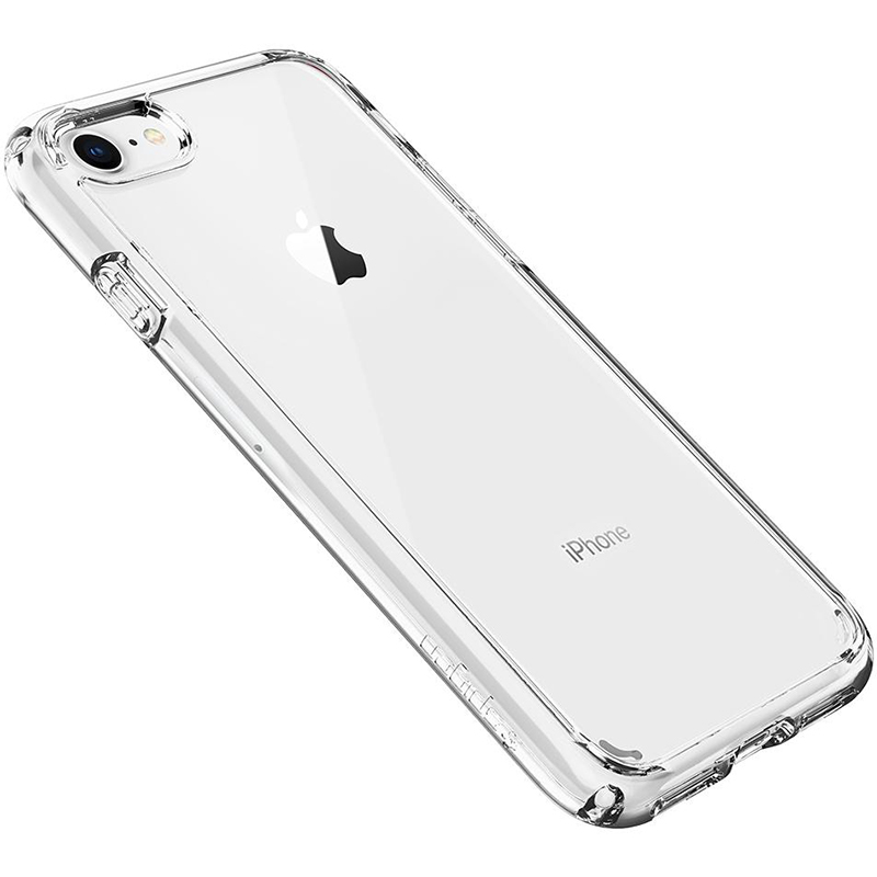 Spigen Ultra Hybrid 2 Crystal Clear iPhone 8/7 Tok