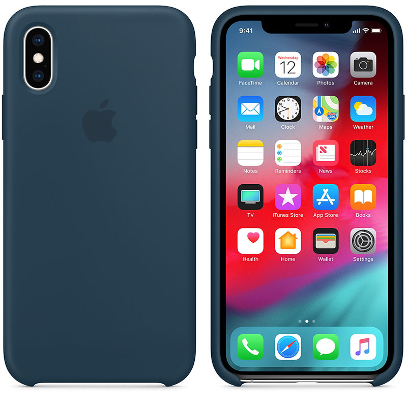 Apple Pacific Green Silicone iPhone XS Max Tok