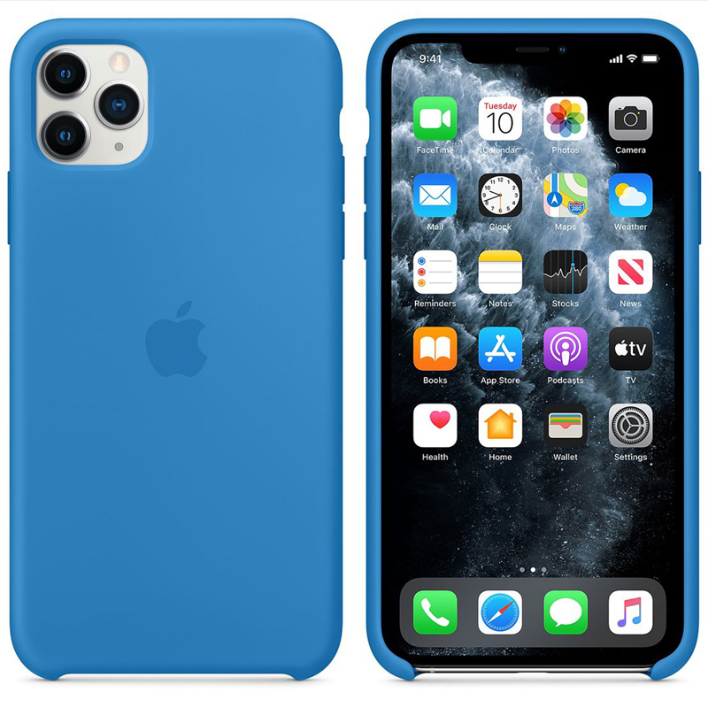 Apple Surf Blue Silicone iPhone 11 Pro Tok