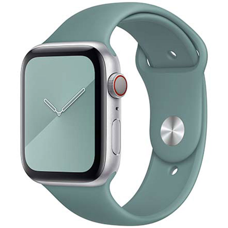 Silicone Szíj Apple Watch 38/40mm Cactus Small