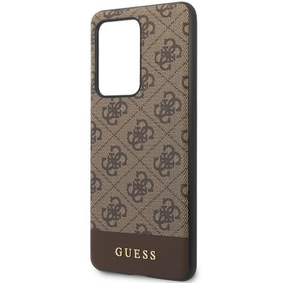 Guess 4G Stripe Brown Samsung S20 Ultra Tok