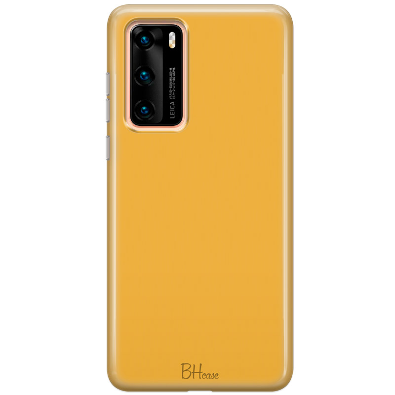 Honey Yellow Color Huawei P40 tok