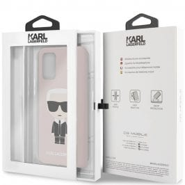 Karl Lagerfeld Iconic Full Body Silicone Pink Samsung S20 Plus Tok