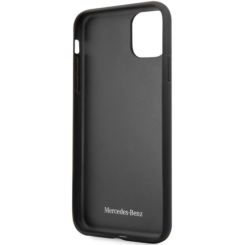 Mercedes Quilted Leather Black iPhone 11 Pro Max Tok