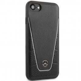 Mercedes Quilted Leather Black iPhone 8/7/SE 2 2020 Tok
