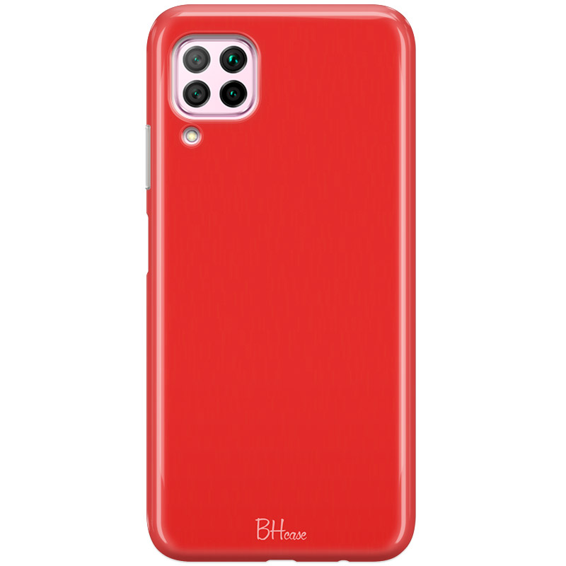 Red Apple Color Huawei P40 Lite Tok
