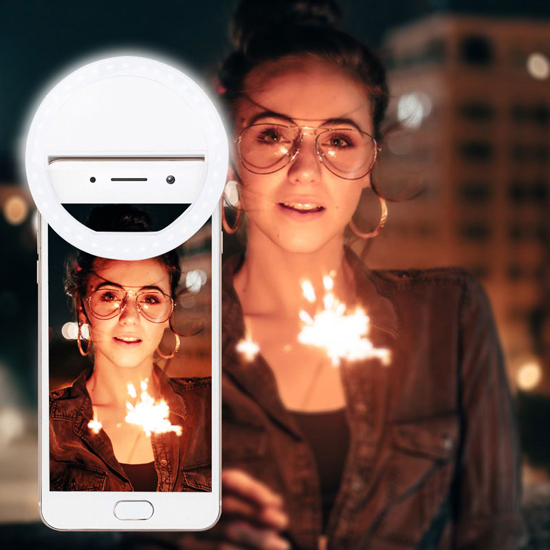 Selfie Ring Light RK-12 White