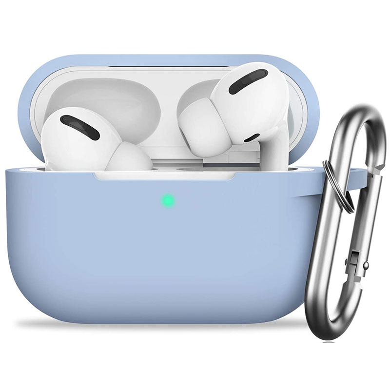 Silicone Tok Airpods Pro Protective Light Blue