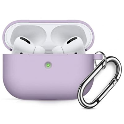 Silicone Tok Airpods Pro Protective Lilac
