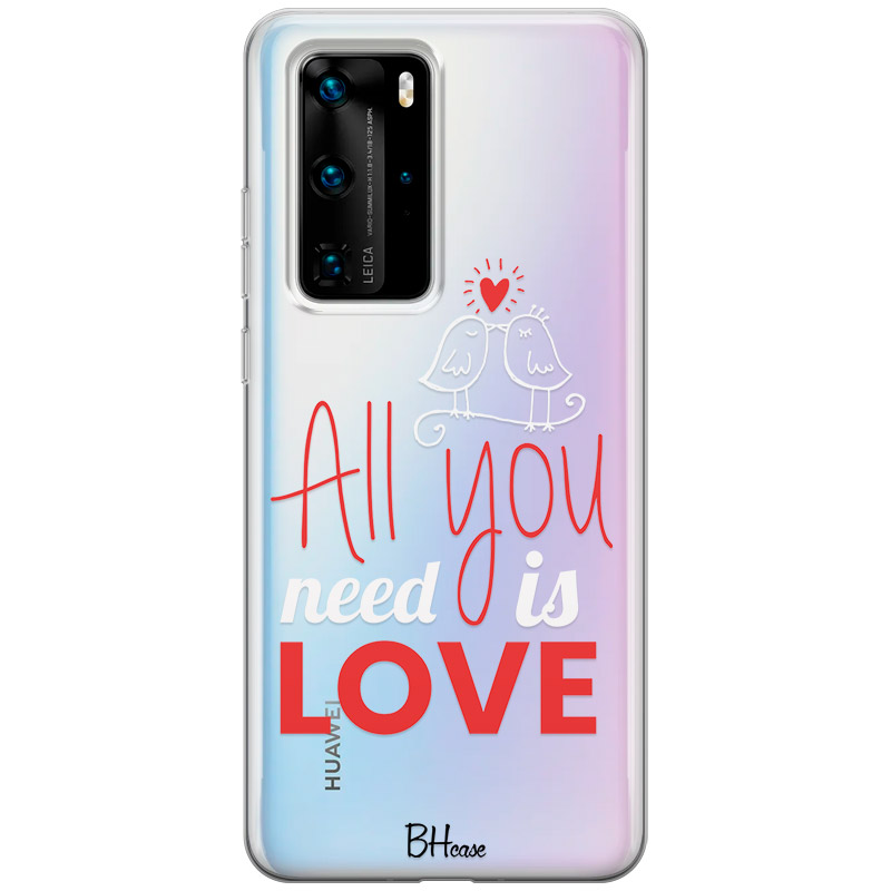All You Need Is Love Huawei P40 Pro tok