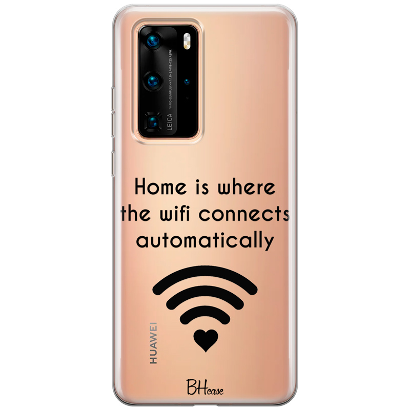 Home Is Where The Wifi Connects Automatically Huawei P40 Pro tok