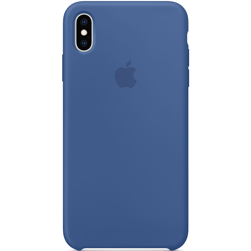 Apple Delf Blue Silicone iPhone XS Max Tok