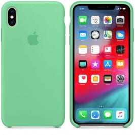 Apple Spearmint Silicone iPhone XS Max Tok