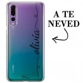 Szív és név Huawei P20 Pro tok