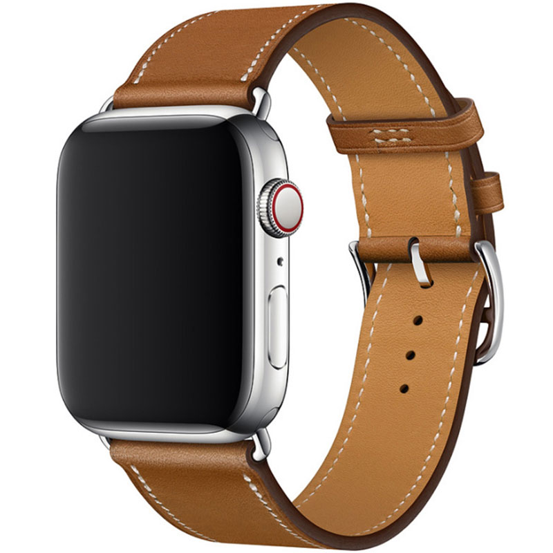 Leather Strap Apple Watch 42/44mm Brown