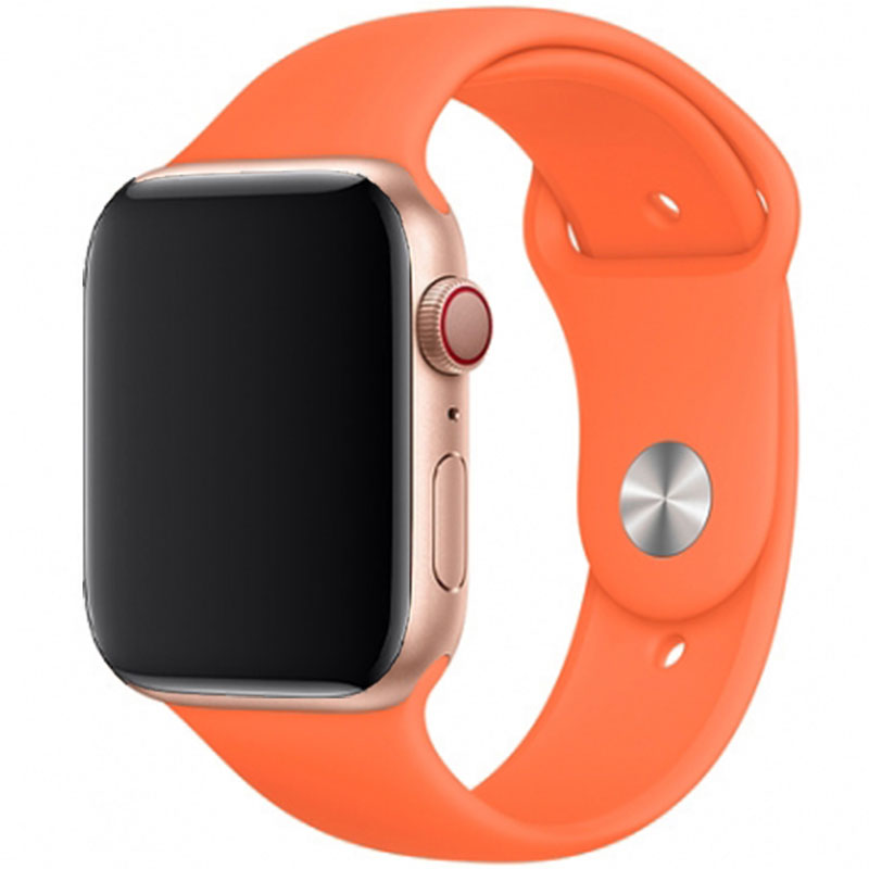 Silicone Szíj Apple Watch 42/44mm Vitamin C Large