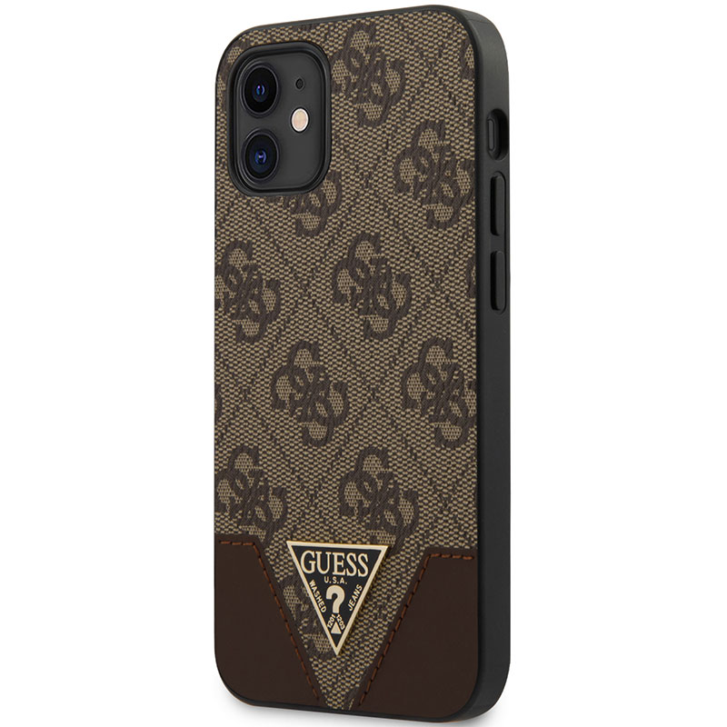 Guess 4G Triangle Brown iPhone 12 Mini Tok